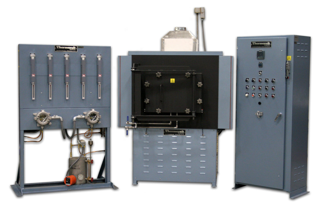 Two More Custom Industrial Furnaces from Thermcraft