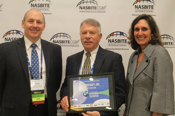 Thermcraft Honored as an Outstanding Exporter by NASBITE